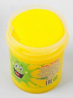 0063/7118YETU 40g Слайм-Плюх желтый туба 40 грамм