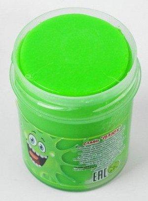 0049/7118GRTU 40g Слайм-Плюх зеленый туба 40 грамм