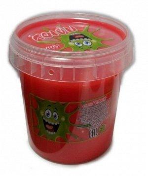 0285 Слайм-Плюх красный контейнер 140 грамм