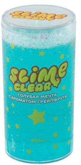 """S130-33 Slime Clear-slime """"Голубая мечта"""" с ароматом черники,250 г"""