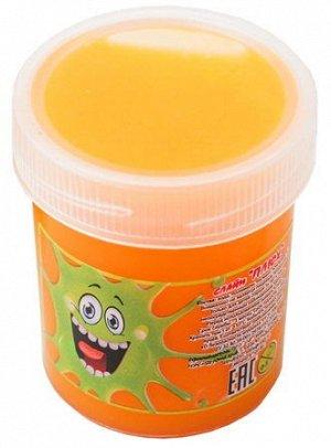 0025/7118ORTU 40g Слайм-Плюх оранжевый туба 40 грамм