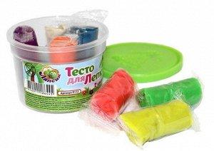 П112 Тесто для лепки 7 цветов 105 грамм в банке