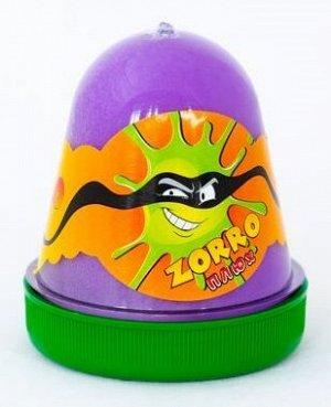 "0397 Слайм-Плюх ""ZORRO"" перламутровый фиолетовый, 130 грамм"