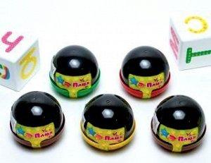 0773 Слайм-Плюх черный, капсула 40 грамм