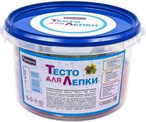 П109 Тесто для лепки 12 цветов+21 формочка,скалка в ведре
