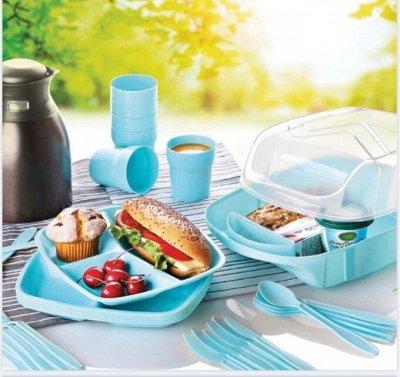 🏕️ Товары для отдыха! Стулья,палатки! ⛺В наличии!🥩🍖Спешим — Посуда для вашего отдыха!120 руб. МНОГОРАЗОВАЯ! — Наборы посуды