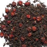Чай черный листовой с шиповником (70 гр)