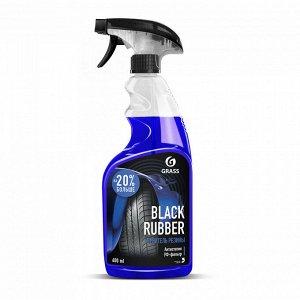 Чернитель-полироль резины Black RUBBER 600 мл