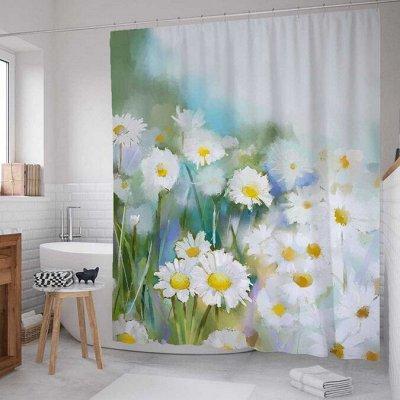 Красивые шторки в ванную, сумки, корзины и много текстиля — В Наличии! Быстрая раздача