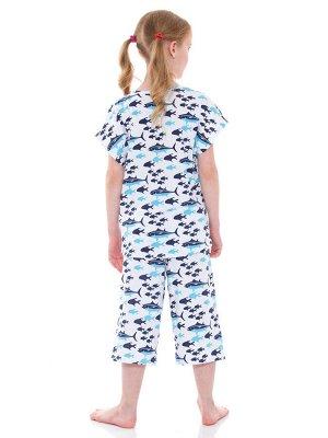 Пижама для девочек арт 11438