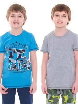 Футболка для мальчиков арт 11482 (комплект из двух футболок)