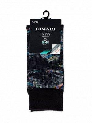 DiWaRi Happy Носки мужские с печатным рисунком