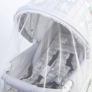 Антимоскитная сетка для коляски , белая 100х140 СЭ-826 РОССИЯ
