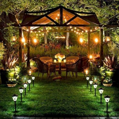 Лучший огород-дача. Подвязки, освещение, парники,  удобрения — Освещение — Садовое освещение