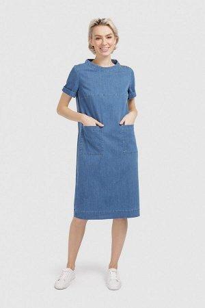 Платье Состав 61%хлопок, 29%тенсель, 8%полиэстер, 2%эластан