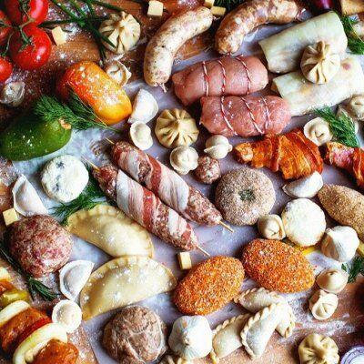 Кондитерские изделия, бакалея  — Полуфабрикаты замороженные — Готовые блюда