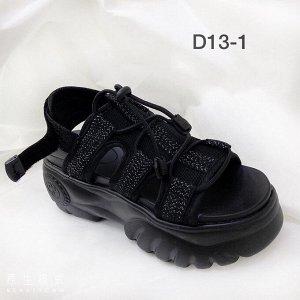 Женские сандалии D13-1 черные
