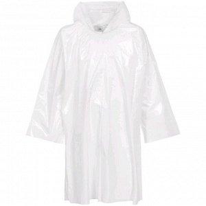 Дождевик-плащ CloudTime, цвет белый