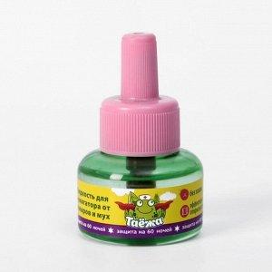 """Дополнительный флакон-жидкость """"Таежа"""", от комаров и мух, без запаха, 60 ночей, 40 мл"""