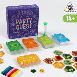 Настольная игра на объяснение слов «PARTY QUEST. Лепи, называй ассоциации, говори», 14+