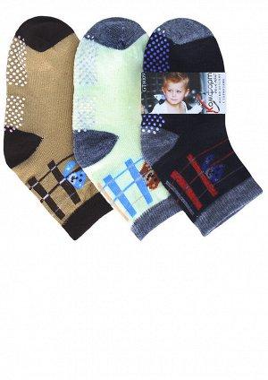 Носки детские демисезонные с тормозами
