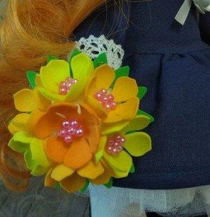 Букет цветов для куколки Бп-002
