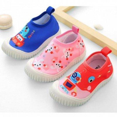 🏖 Акватапки для всей семьи. Самая нужная вещь на пляже — Модель с ещё более прочной подошвой — Детская обувь