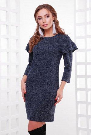 Платье 1756 темно-синий