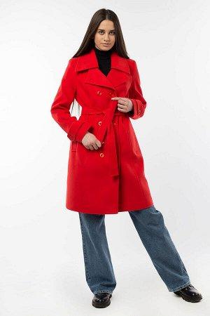 Пальто женское демисезонное(пояс)