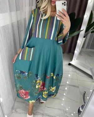 Платье ТКАНЬ: ХЛОПОК 100%