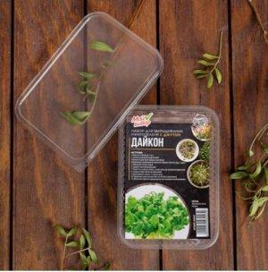 Набор для выращивания микрозелени Дайкон