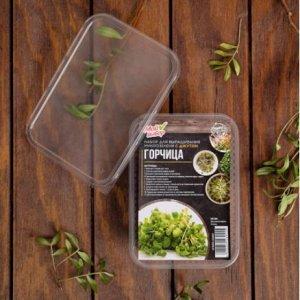Набор для выращивания микрозелени Горчица