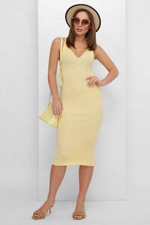Платье 189 лимонный