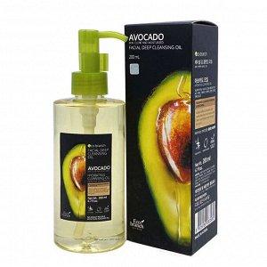 Гидрофильное масло для глубокого очищения лица авокадо Eco Branch
