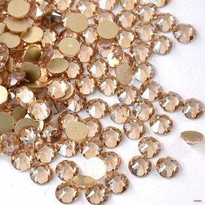 Камни в полоску золото ( по размерам) SS1-Ss6 1440 шт .