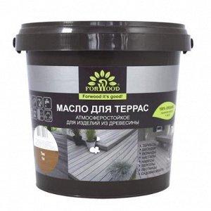 FORWOOD Масло для террас ПАЛИСАНДР