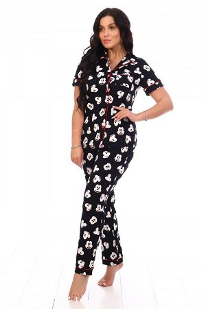 Пижама Ткань: Кулирка; Состав: 100% хлопок; Размеры: 44-54, 42-48