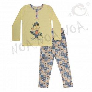 Пижама для девочек арт 10363