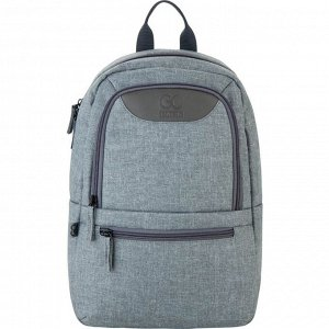 Рюкзак GoPack Сity 119S-1 серо-зеленый