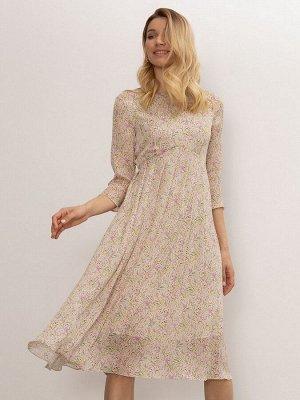 Платье с цветочным принтом PL1119/alive