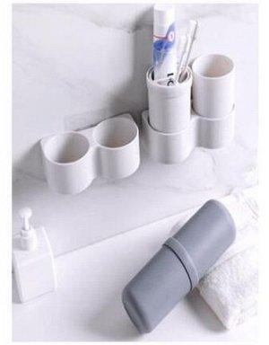 Подставка-контейнер для зубных щеток пластик Арт.35964-36 /375989 /DVL