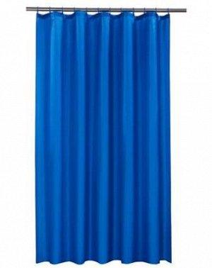 Штора д/ванной 180*180см 100% полиэстер, синий цвет, /Арт-MZ-MY3013/335586/MZ