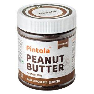 арахисовая паста PINTOLA  Dark Chocolate Crunchy 350 г 1 уп.х 12 шт.