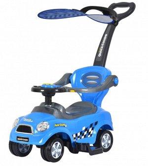 "Машина для катания детей Толокар ""CHILOK BO"" 321C  (синий)"