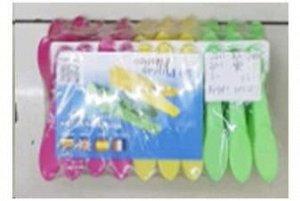Набор прищепок 20шт пластик Арт.16371-6 /365133 /DVL