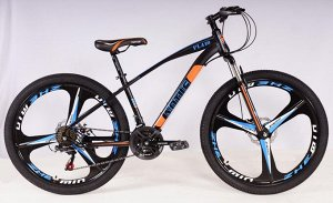 """Велосипед NOTUS 2-х колесный 26"""" (21 скорость) FL410 черно/сине/оранж."""