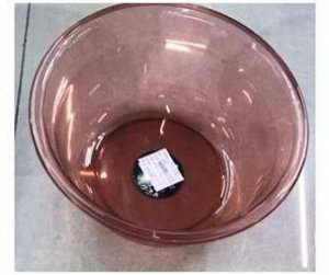 Таз 24х10см 2,4л розовый пластик/Арт-16828-5p/253767/DVL