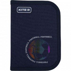 Пенал Kite 1 отд., 1 отв., без наполнения 621 Football