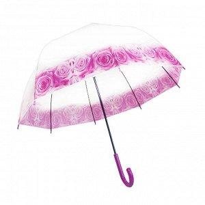 Женский зонт полуавтоматический / 82 см