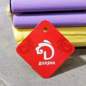 Швабра PVA с двойным роликовым отжимом Доляна, телескопическая стальная ручка 89-107 см, насадка 27?6 см, цвет МИКС